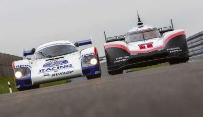 Porsche 919 Hybrid Evo and Porsche 956C to lap Nürburgring Nordschleife