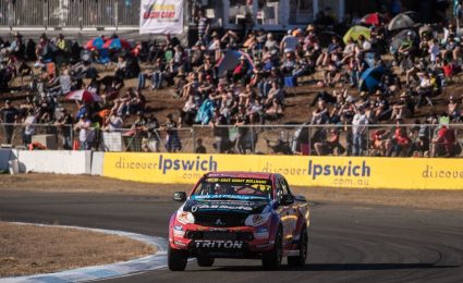 Crick continues good form in SuperUtes debut at Ipswich