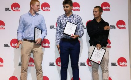 Feeney sweeps 2018 Awards on-track and at TAFE