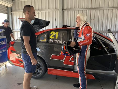Broc Feeney enjoys BJR Supercars outing