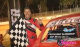 Jamie Lock wins Nyora Street Stock Rumble